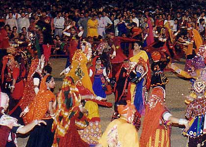 Festival celebration: Dandiya Raas - Garba