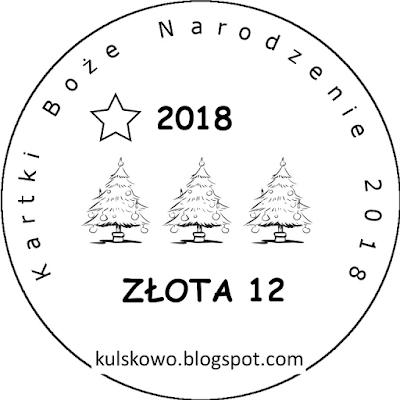 Zdobyłam odznakę Złotej 12 u Uleńki :)