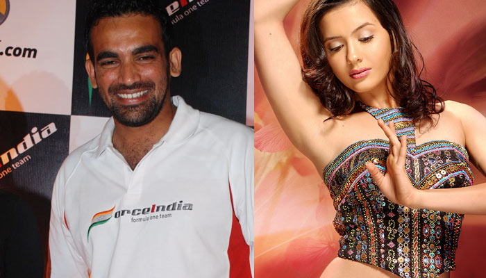 Indian Hot Hot: Isha Sharvani Zaheer Khan