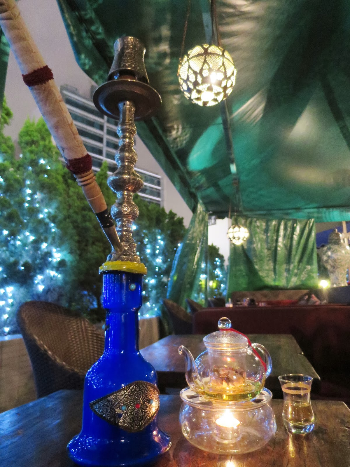 Shisha and tea