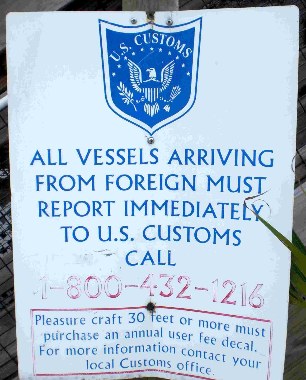 A MIAMI BRITS BLOG Miami South Florida - Us customs miami map officces