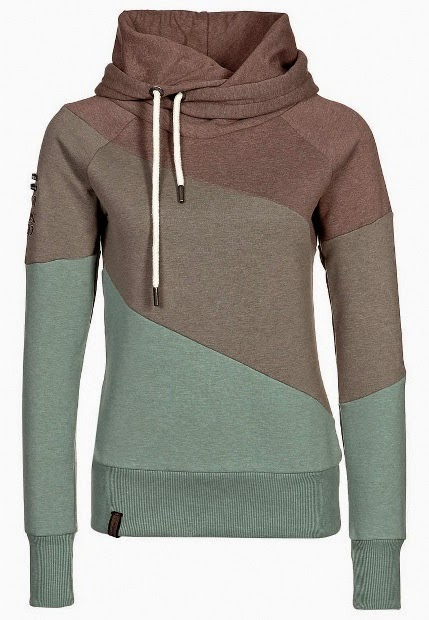 Gorgeous Three Colored Hoodie. Love it!