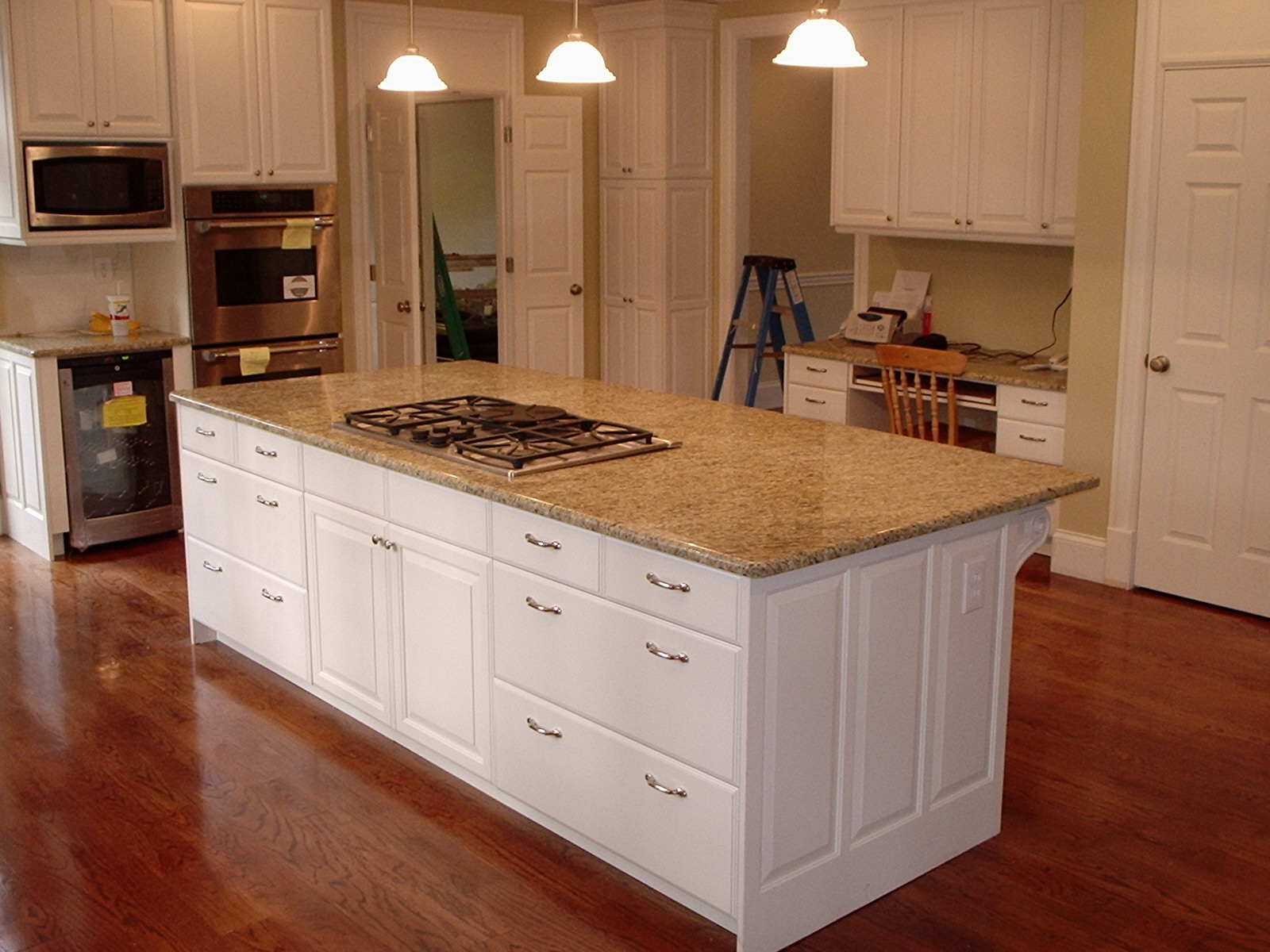 Kitchen cabinet plans dream house experience for Kitchen island with cupboards