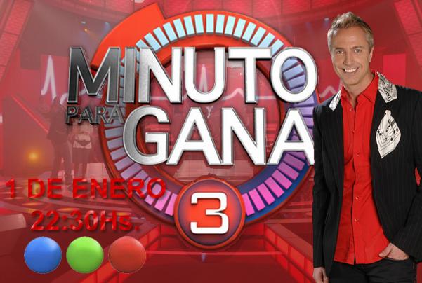 Minuto para ganar 3 ya tiene fecha telefe el canal for Minuto uno primicias ya