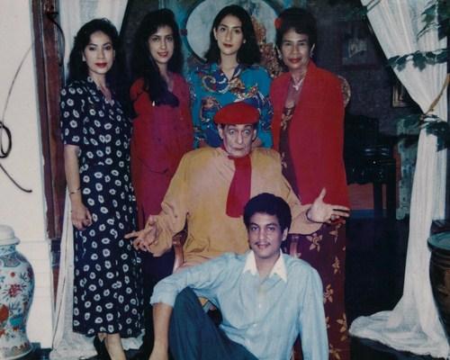 Antonio Blanco dan Keluarga