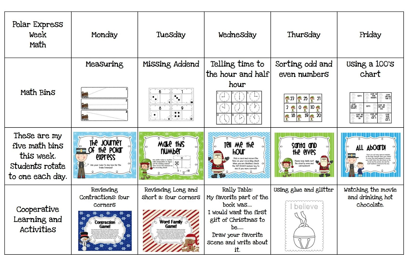 math worksheet : a day in first grade  polar express week! : Polar Express Math Worksheets