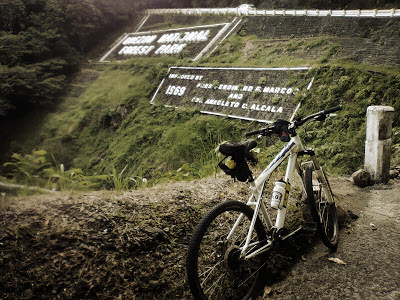Bike ride to Quezon National Forest Park