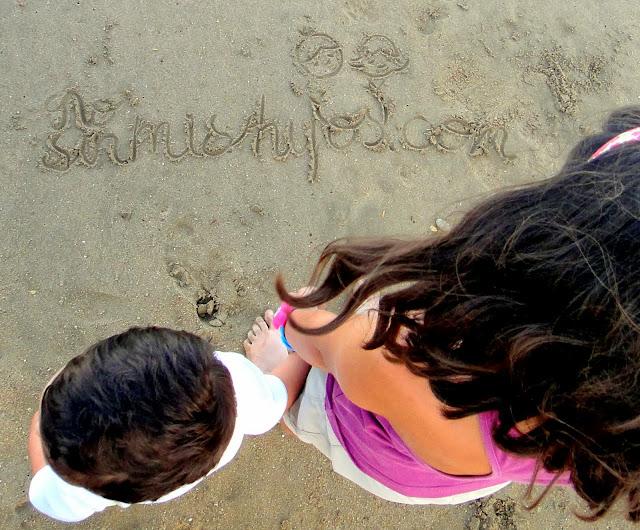 No sin mis hijos en la playa