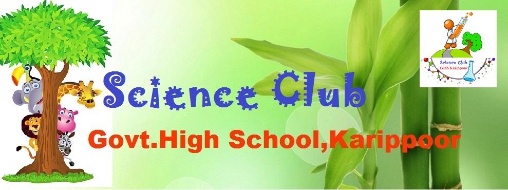 GHS Karippoor Science Club