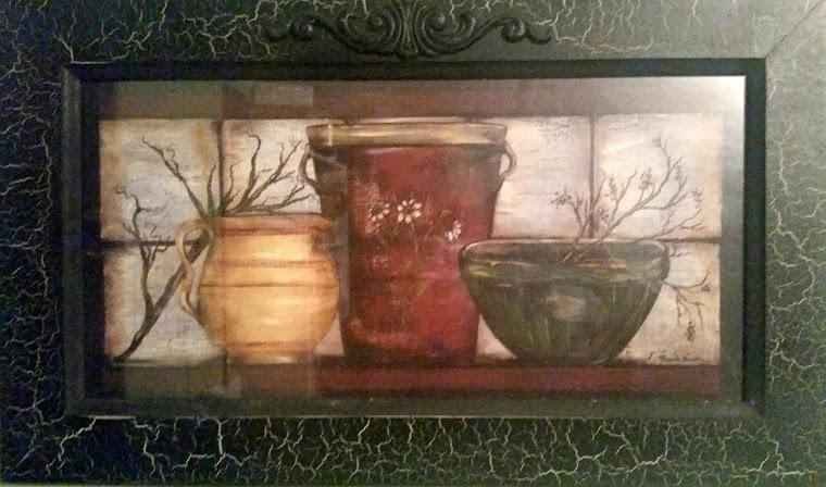 framed pots