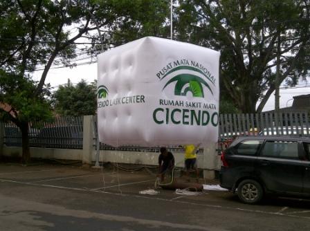Balon Udara Promosi Cicendo Bandung