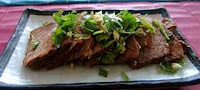 How to make Chinese beef salad