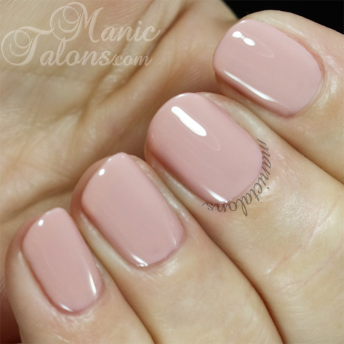 Pink Gellac Gel Polish Nude Beige Swatch