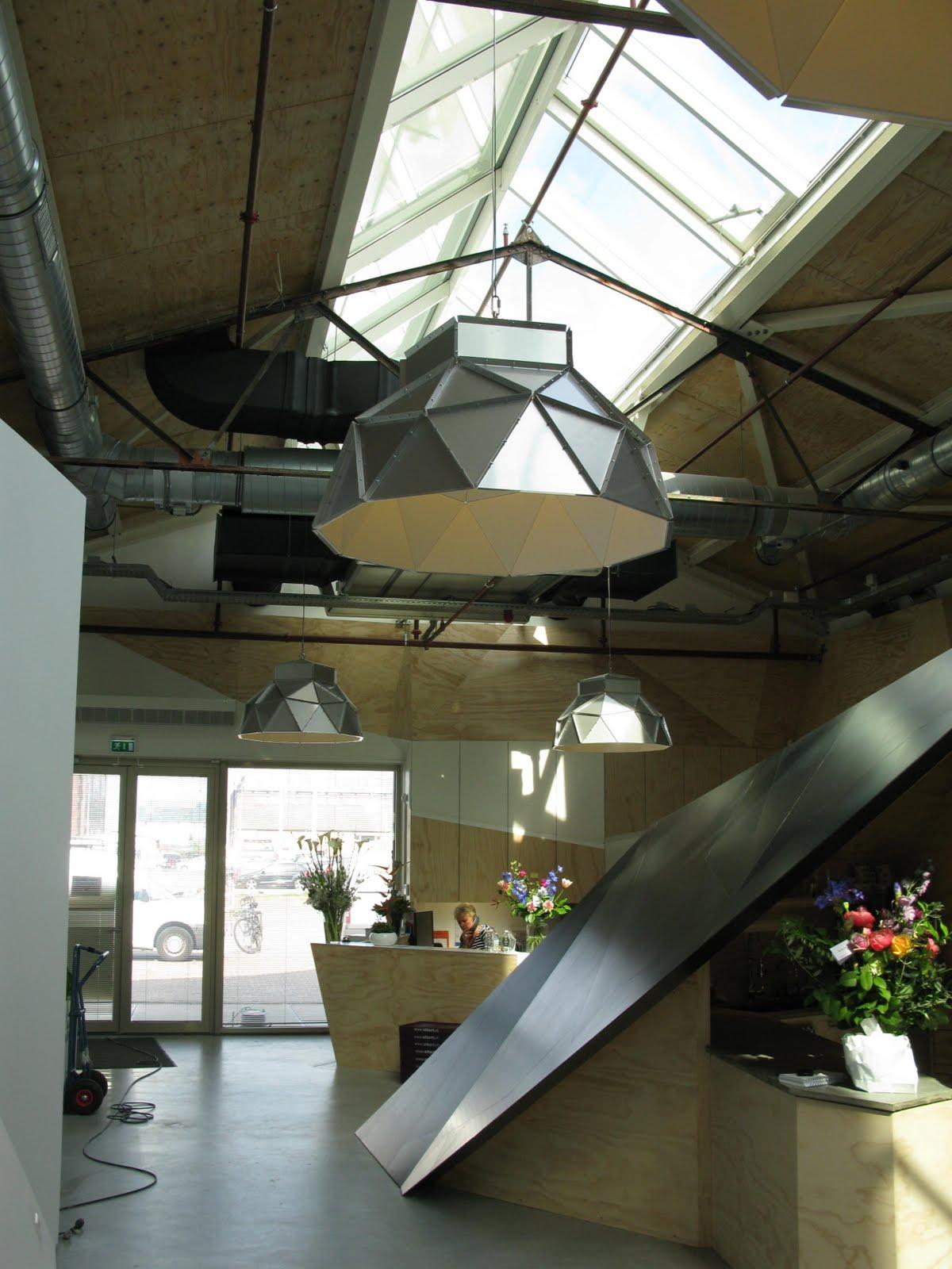 Romy Kühne Design: Mijn lampen in het nieuwe Red Bull hoofdkantoor ...