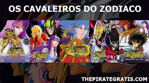 Pentalogia: Os Cavaleiros Do Zodíaco