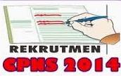 Pengumuman Penerimaan Pendaftaran CPNS 2014