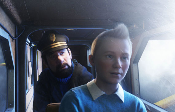 The Adventures of Tintin: The Secret of the Unicorn, Photograph