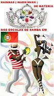 RAINHAS(MADRINHAS) DE BATERIA -2015- PORTUGAL