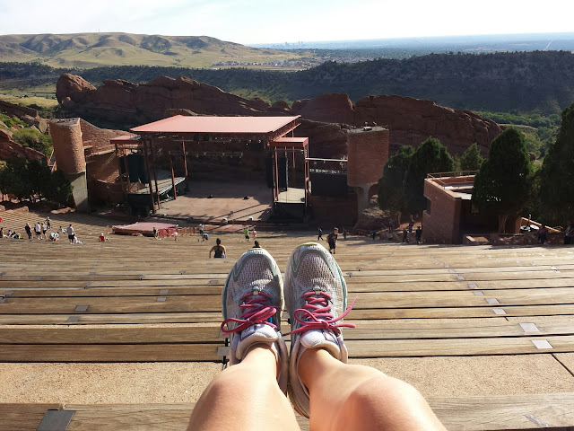 Red Rocks Workout - Crunches