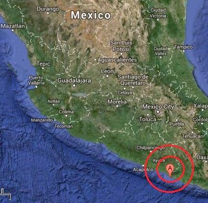 cuajinicuilapa, mexico earthquake 2013 December 07