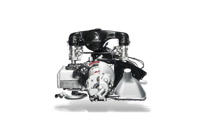 2.0-litre flat-six engine; Porsche 911; 1963