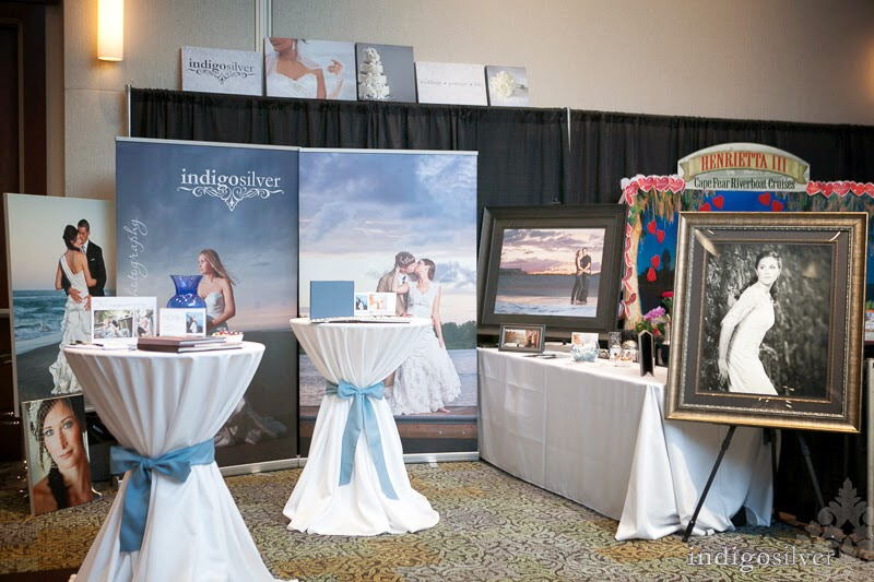 wilmington wedding photographers | indigosilver at the Carolina Wedding Guide Bridal Expo | wedding shows | wedding vendors