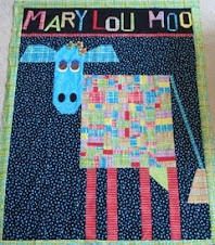 Kathy Collins creates Mary Lou Moo from Out of the Box with Easy Blocks