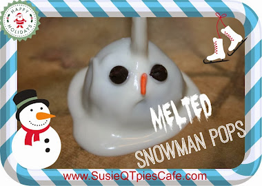 Melted Snowman Pops