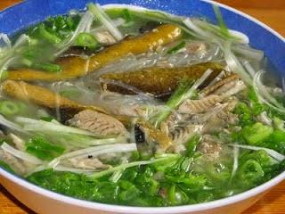 Cách làm món miến lươn ngon