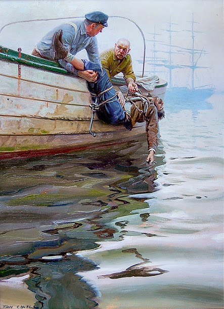 art contrarian tom lovell illustrator personified