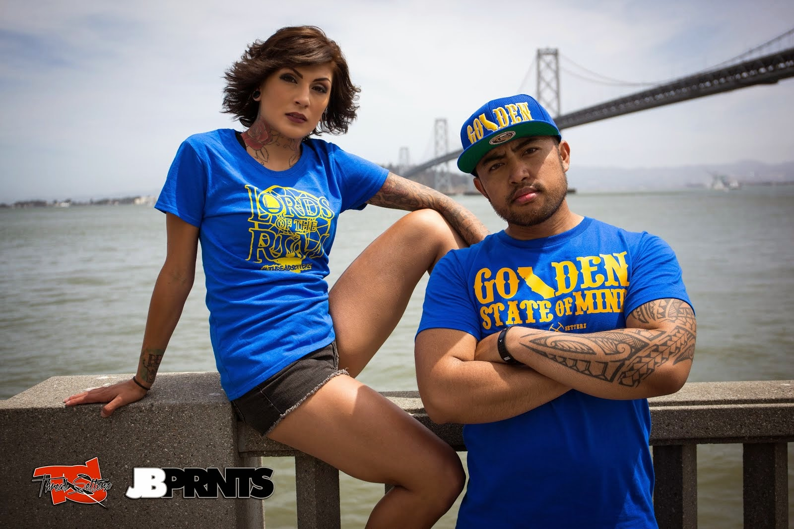 JBPRNTS x Threadsetterz San Francisco Photoshoot