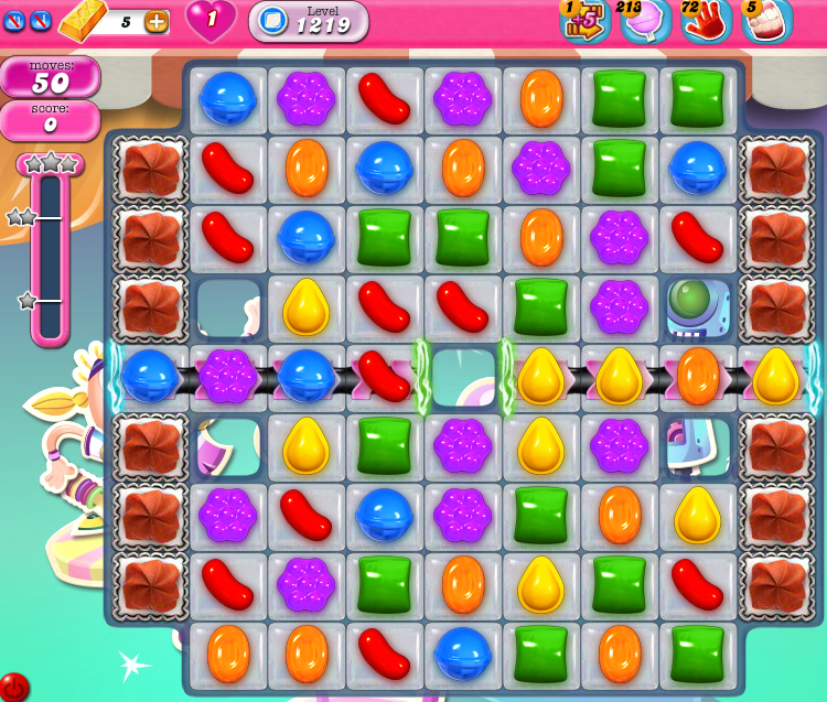Candy Crush Saga 1219