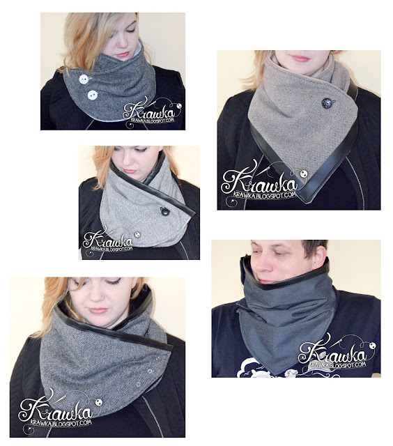 Krawka: Modern cowl collection by Krawka