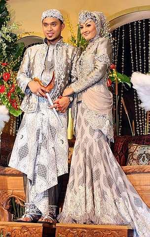 Model Gaun pengantin muslim 2013