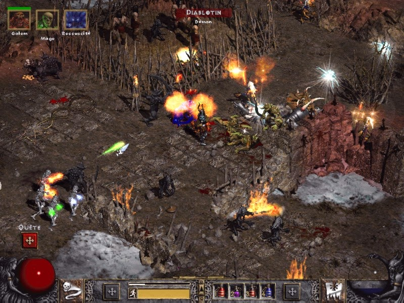 Diablo II : Lord of Destruction - Screenshot. diablo ii lord of