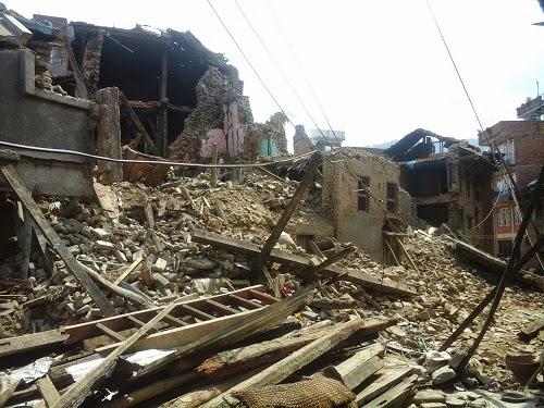 earthquake Khokana