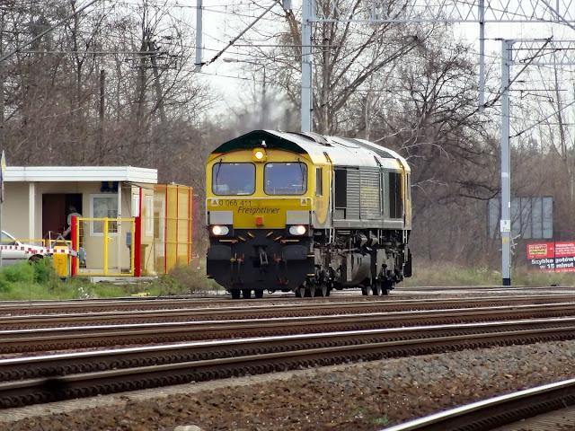 Class66 Freightliner 66013