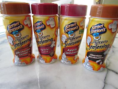 Kernel Season's popcorn seasonings in four flavors