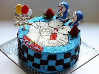 Kue Tart Doraemon Untuk Ulang Tahun