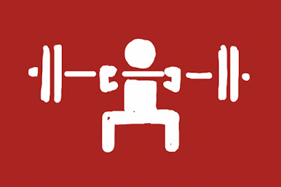 Squat Clean Workout a Cycle of Squat Cleans