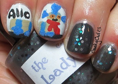 http://geekyowl.blogspot.com/2013/04/tgif-Easy-Nail-Art-does-animal-week.html