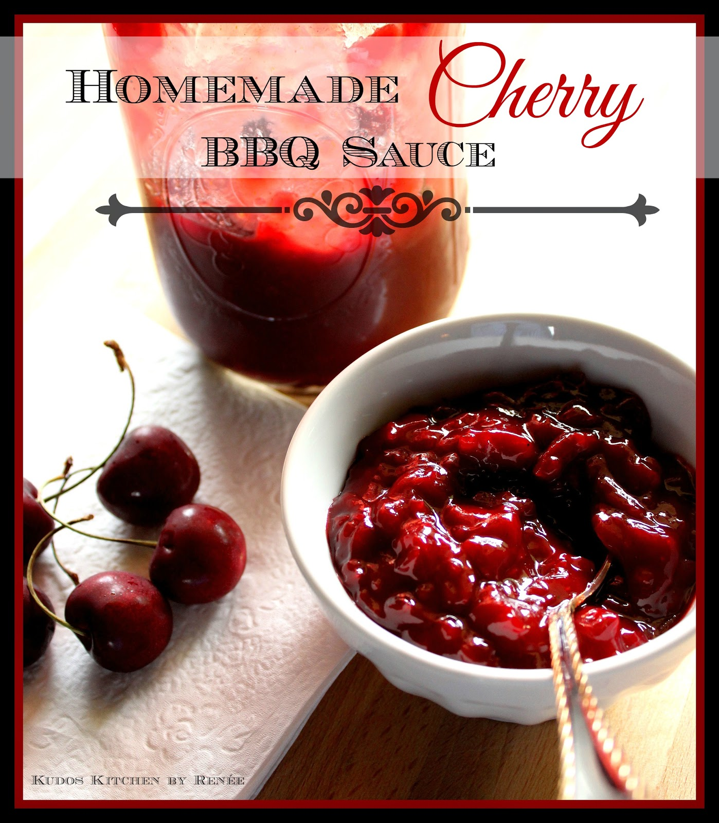 cherry bbq sauce cherry barbecue sauce paleo cherry barbecue sauce ...