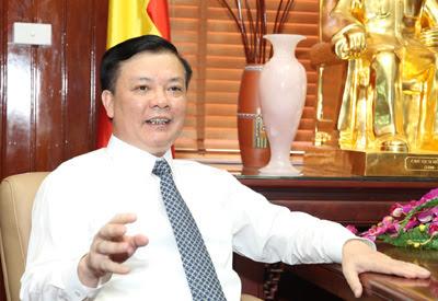 Tân Bộ trưởng Tài chính, ông Đinh Tiến Dũng