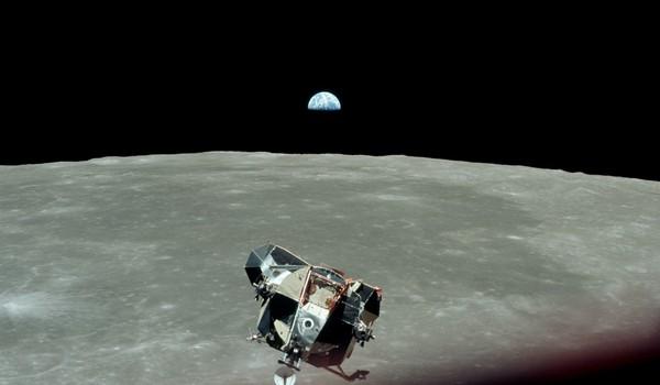 Apollo 11 - Foto de la Tierra desde la Luna