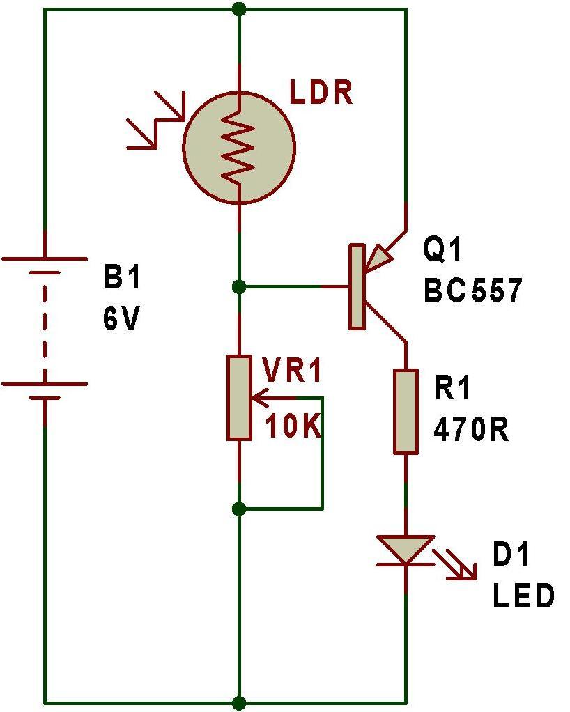 Street Light Using Ldr And Transistor: Além Da Eletrônica: Esquemas Eletronicos