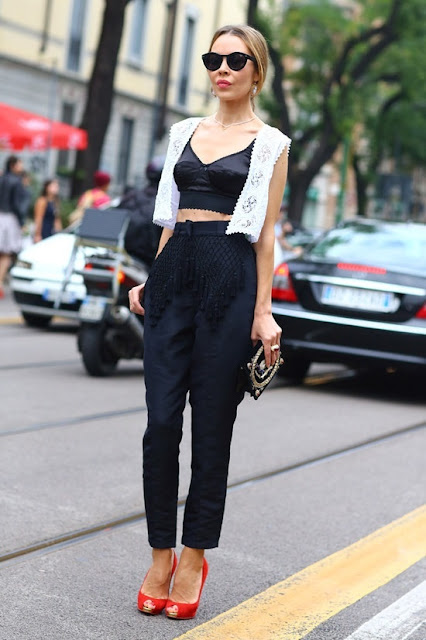 crop tops 2013 trends models streetstyle short tops cropped