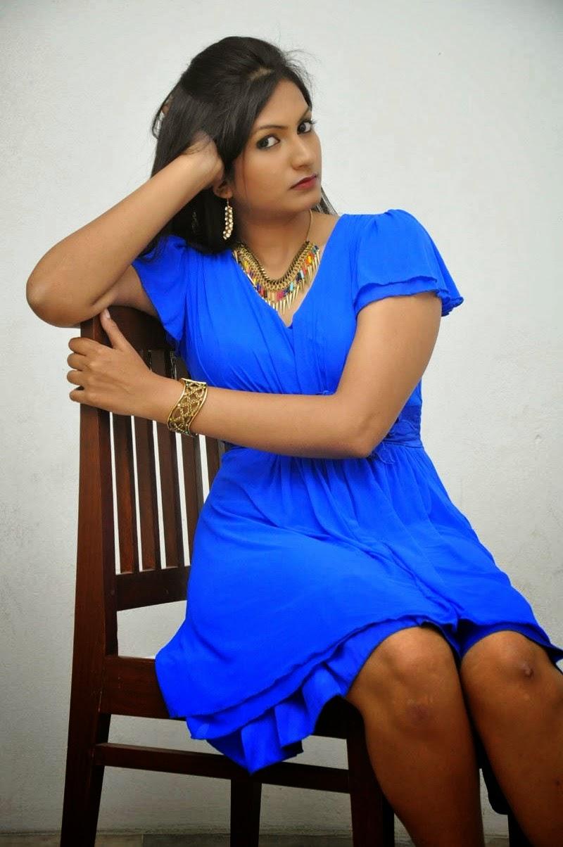 swetha varma blue costume pics