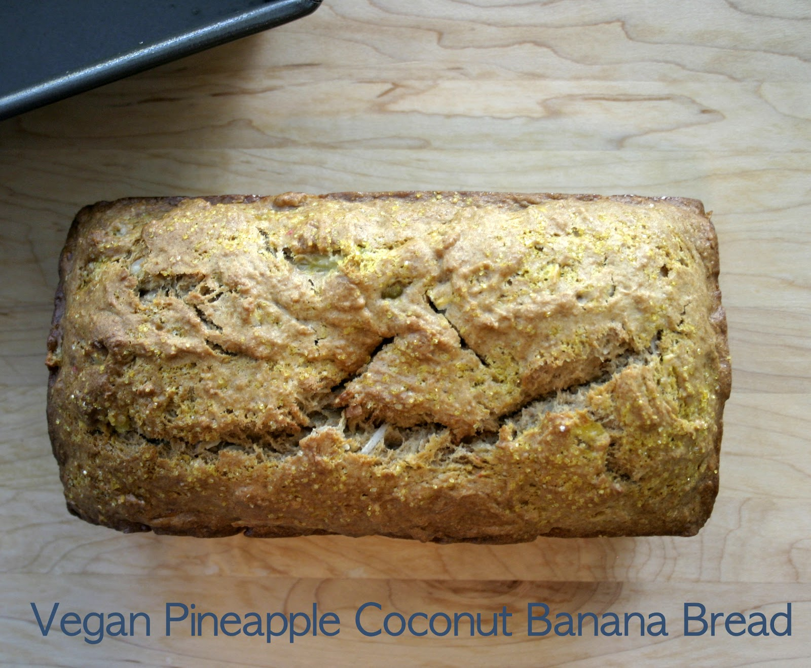 ... banana coconut vegan banana bread with fresh pineapple coconut vegan