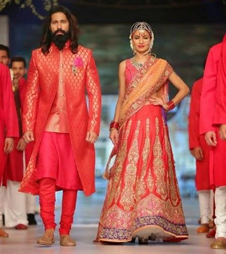 Nomi Ansari Bridal Collection 2014-15