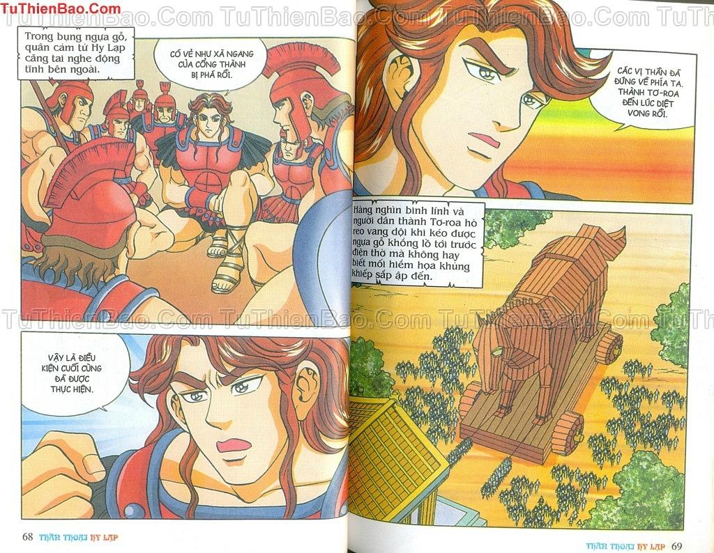 Thần thoại Hy Lạp Chapter 14 - Trang 33